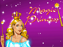 На зеркале казино аппарат Magic Princess